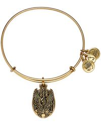 ALEX AND ANI - Guardian Of Love Expandable Wire Bangle - Lyst