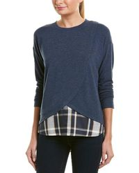 Jones New York - Long Sleeve Shirttail Hem Twofer - Lyst