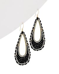 Miguel Ases - 14k Gold Filled Drop Earrings - Lyst