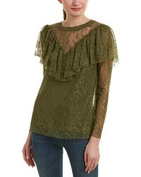 Kensie - Lace Top - Lyst