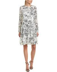 Max Mara Studio Silk A-line Dress