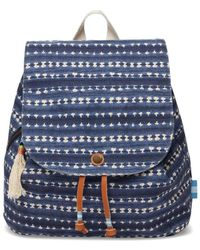 TOMS - Batik Canvas Backpack - Lyst