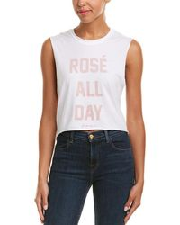 The Laundry Room - Crop Muscle Tank - Lyst