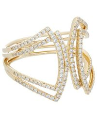 Diana M. Jewels - . Fine Jewellery 18k 0.61 Ct. Tw. Diamond Ring - Lyst
