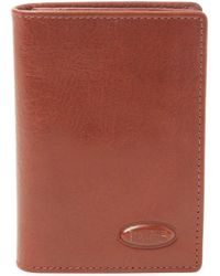 Bric's - Monte Rosa Leather Flip-up Vertical Wallet With Id - Lyst