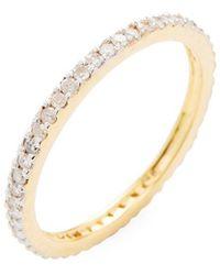 Adornia - Fine Jewelry 14k Eternity Ring - Lyst