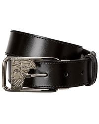 Versace - Collection Leather Belt - Lyst