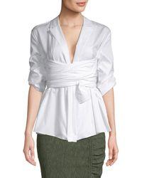 Camilla & Marc - Clarissa Wrap Shirt - Lyst