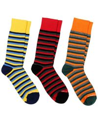 Unsimply Stitched - 3-pack Of Socks - Lyst