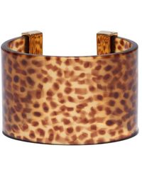 Lele Sadoughi - 14k Plated Lily Cuff - Lyst