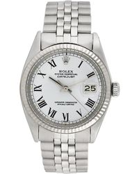 Omega - Rolex 1950s Men's Datejust Watch - Lyst