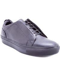 Robert Graham - Sharpe Leather Sneaker - Lyst