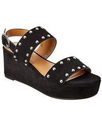 Rebecca Minkoff Ilea Leather Sandal - Black