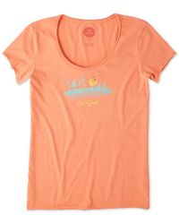 Life Is Good. - ? Smooth T-shirt - Lyst
