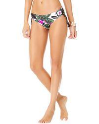 8ba5c889117 Anne Cole Live In Color Alex Bikini Bottoms in Green - Save 24% - Lyst