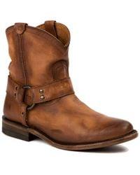 Frye - Wyatt Harness Short Boot - Lyst