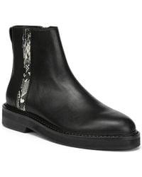 Donald J Pliner North Leather Bootie - Black