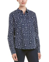 NYDJ - Linen-blend Shirt - Lyst