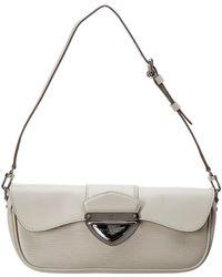 Louis Vuitton - White Epi Leather Montaigne - Lyst