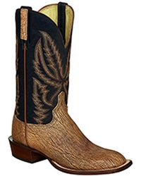 Lucchese - Men's Western Leather Boot - Lyst