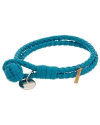 Bottega Veneta - Intrecciato Nappa Leather Bracelet - Lyst