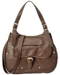 Longchamp - Balzane Leather Hobo - Lyst