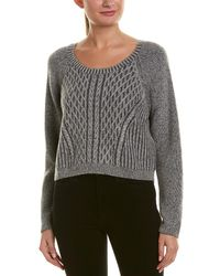 Quinn - Cable-knit Cashmere Sweater - Lyst