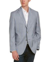 David Donahue - Connor Classic Fit Wool Sportcoat - Lyst