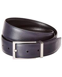 50c0d349d77 Ferragamo - Rectangular Buckle Reversible   Adjustable Leather Belt - Lyst
