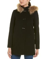 Cinzia Rocca - Icons Wool & Cashmere-blend Coat - Lyst