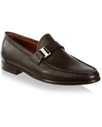 Bally - Colbar Leather Loafers - Lyst