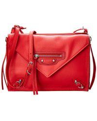 Balenciaga - Papier Triple Xs Envelope Leather Crossbody - Lyst