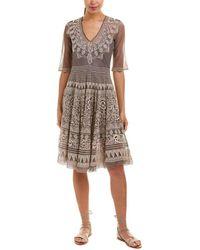Johnny Was - Biya Silk-lined A-line Dress - Lyst
