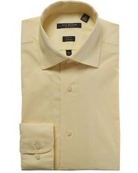 Isaac Mizrahi New York - Slim-fit Dress Shirt - Lyst