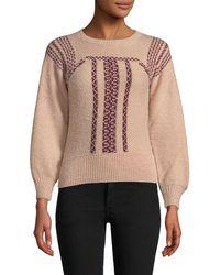 Antik Batik - Jyla Embroidery Sweater - Lyst