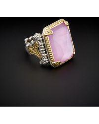 Konstantino - Iliada 18k & Silver 10.00 Ct. Tw. Gemstone Doublet Ring - Lyst