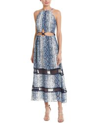 eb6df08239b5b Trina Turk Prisma Swim Cover Up Maxi Dress - Lyst