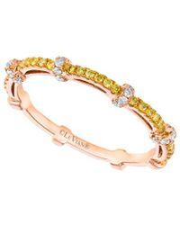 Le Vian - ® 14k Rose Gold 0.28 Ct. Tw. Diamond Ring - Lyst