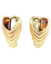 BVLGARI - Heritage Bulgari 18k 5.00 Ct. Tw. Gemstone Drop Earrings - Lyst