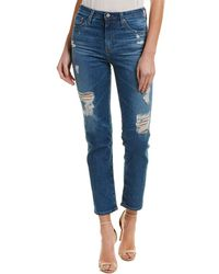 AG Jeans - Phoebe 12 Years Aroma High-rise Tapered Leg - Lyst