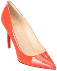 Christian Louboutin - Pigalle 100 Patent Pump - Lyst