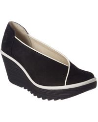 Fly London - Yuca Leather Wedge - Lyst