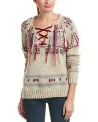Gypsy 05 - Wool & Alpaca-blend Lace-up Jumper - Lyst