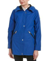 French Connection - Storm Flap Slicker Raincoat - Lyst