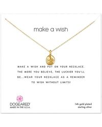 Dogeared - 14k Over Silver Necklace - Lyst