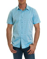 Robert Graham - Maya Bay Classic Fit Jacquard Sport Shirt - Lyst