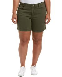 NYDJ - Plue Size Avery Shorts In Topiary - Lyst
