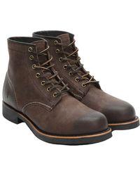 Frye - Men's Arkansas Leather Mid Boot - Lyst