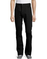 Earnest Sewn - Bryant Solid Five-pocket Pant - Lyst