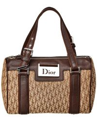 974c711c6965 Dior - Brown Trotter Canvas Small Shoulder Bag - Lyst